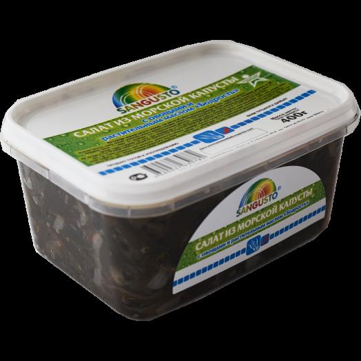 Салат из МК 400г Фитнес с овощами и раст. маслом SANGUSTO