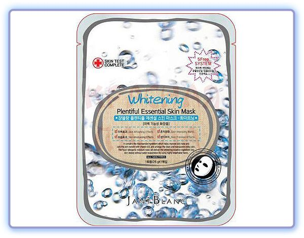 Jant Blanc Whitening Plentiful Essential Skin Mask