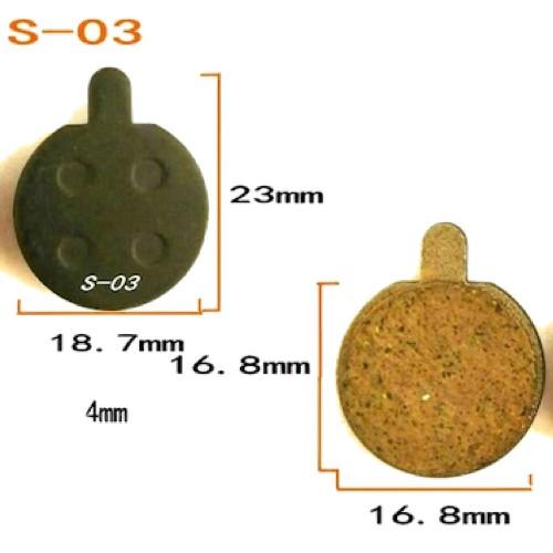 Тормозные колодки L-03 для Электросамокатов Kugoo S4