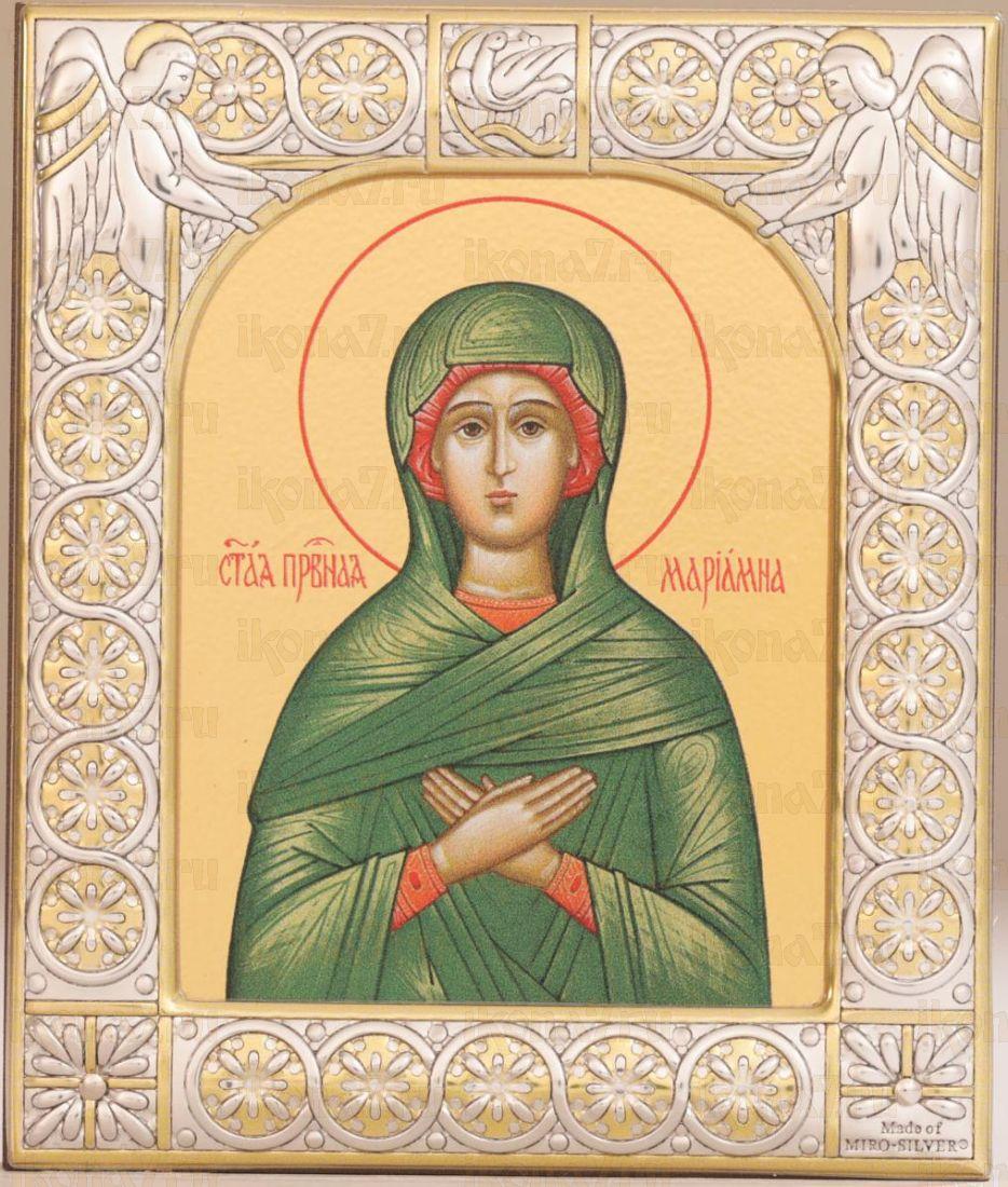 Икона Мариамна праведная (9х10,5см)