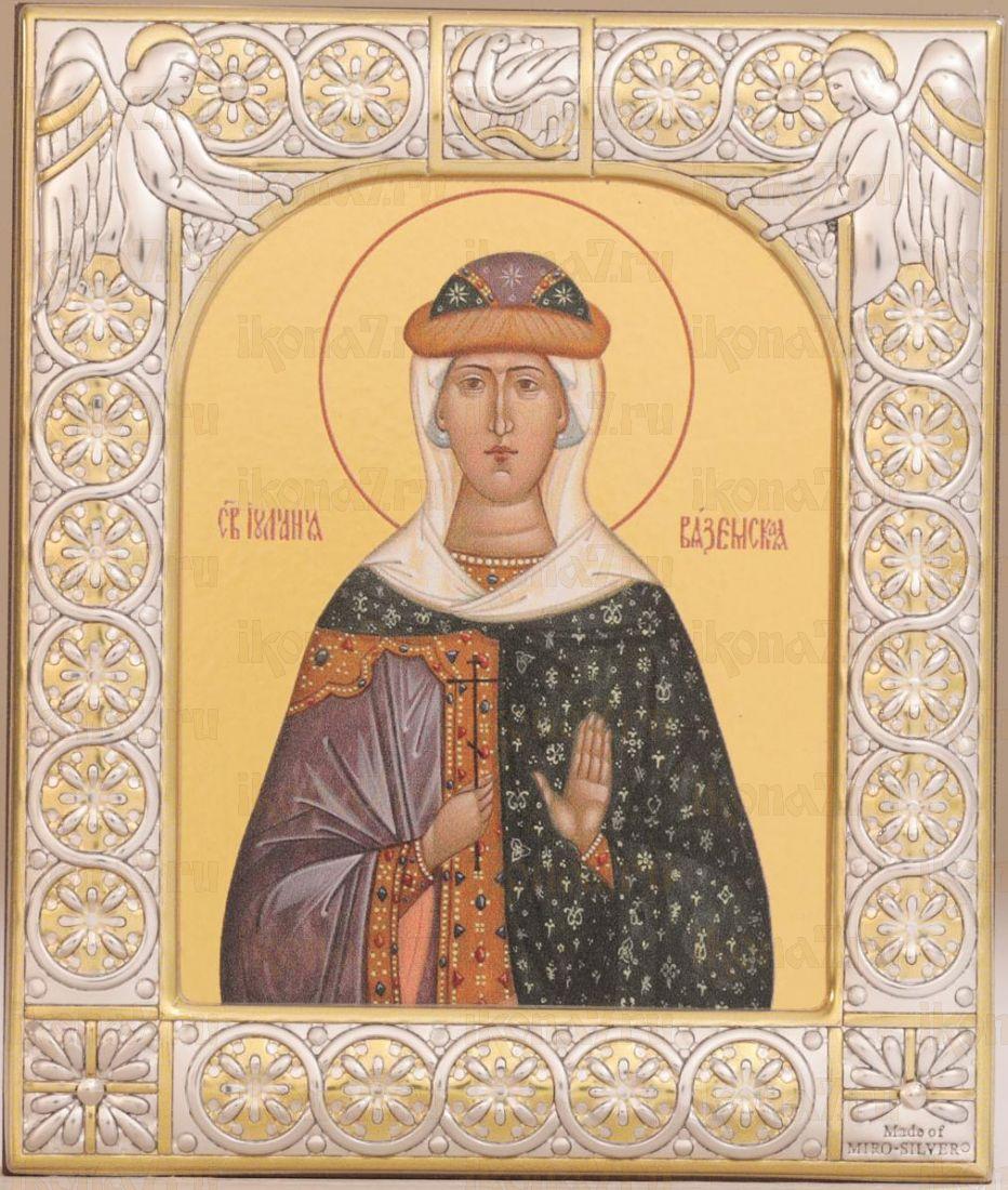 Икона Иулиания Вяземская мученица (9х10,5см)