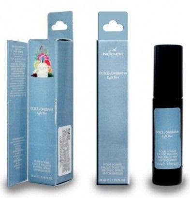 Духи с феромонами 35мл D&G Light Blue pour Homme