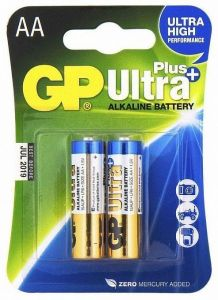Батарея GP Ultra Plus Alkaline AA(2)