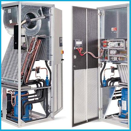 Монтаж прецизионных кондиционеров 16-21 кВт