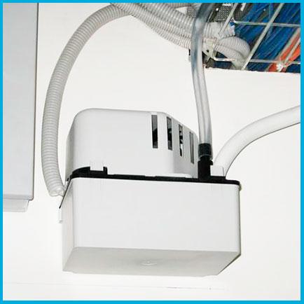 Монтаж накопительной дренажной помпы кондиционера