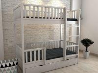 Кровать двухъярусная с ящиками №В