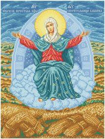 ПБСХ БС Солес. Пресвятая Богородица Спорительница Хлебов. А3 (набор 2375 рублей)