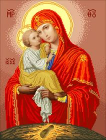 ПБ БС Солес. Почаевская Богородица. А3 (набор 2200 рублей)