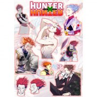 Стикеры Hunter x Hunter