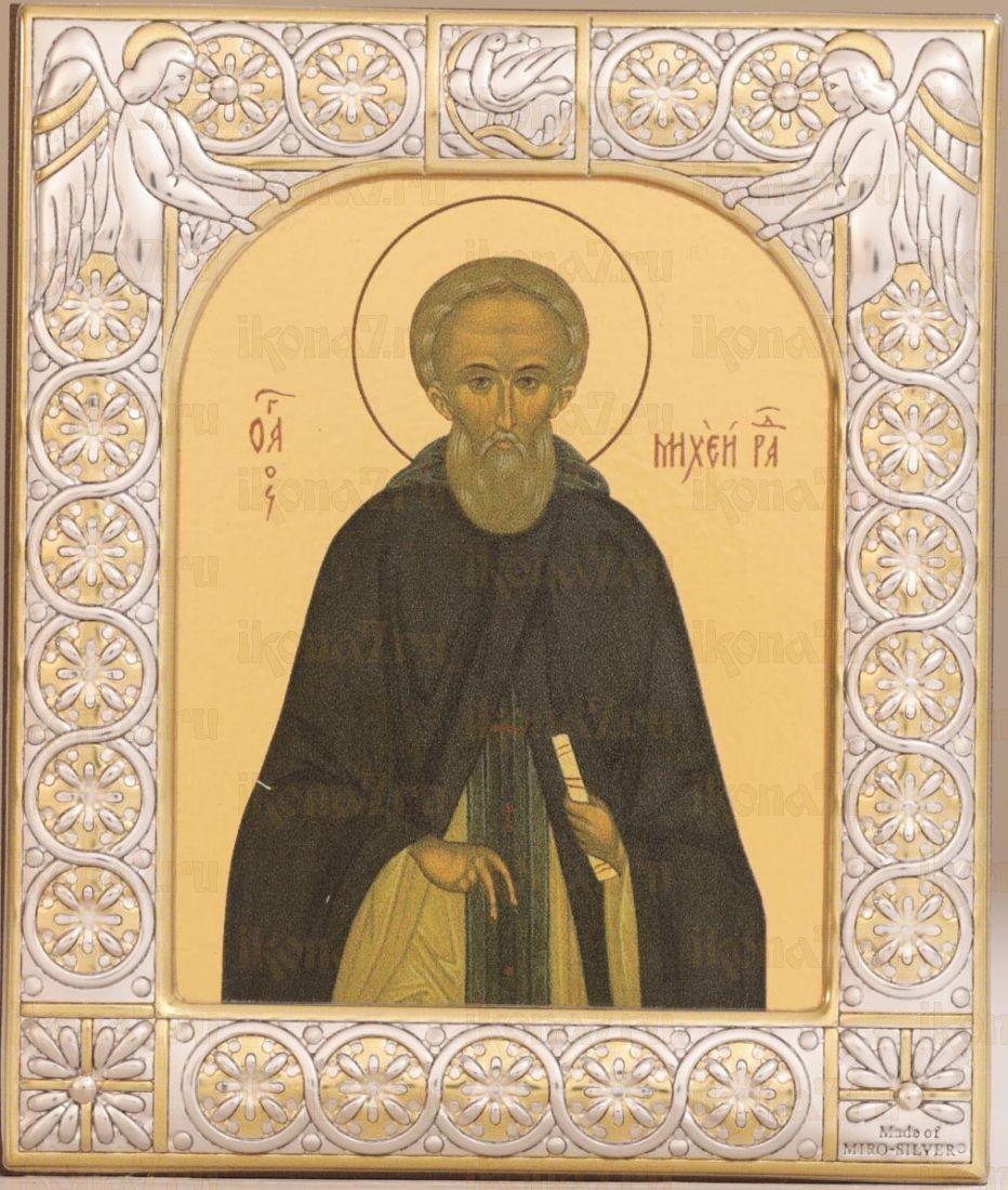 Михей Радонежский преподобный (9х10,5см)