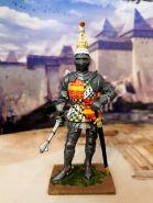 Ричард Невилл, граф Уорвик. Англия, 1455 год. Оловянная. Роспись. Авторская работа