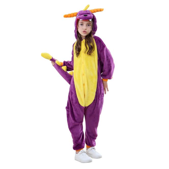 Детская Пижама Кигуруми Дракон Спайро