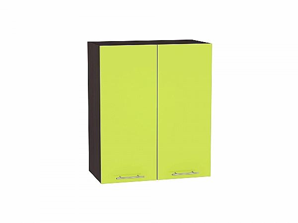Шкаф верхний Валерия В609 (лайм глянец)
