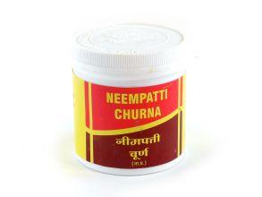 Ним патти чурна (порошок), 100г. Вьяс (Neempatti Churna Vyas Pharmaceuticals)