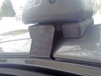 Багажник на крышу Hyundai Solaris 2011-17 sedan, Евродеталь, аэродинамические дуги