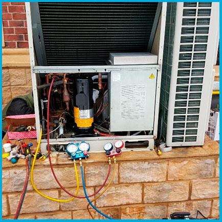 Замена компрессора 5-7 кВт