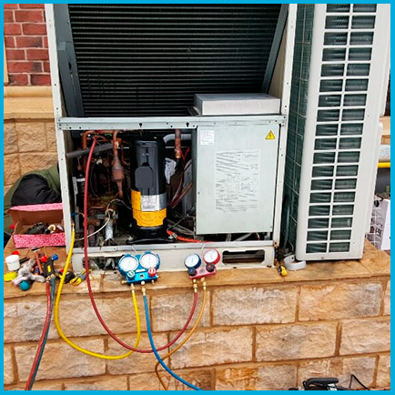 Замена компрессора 8-11 кВт