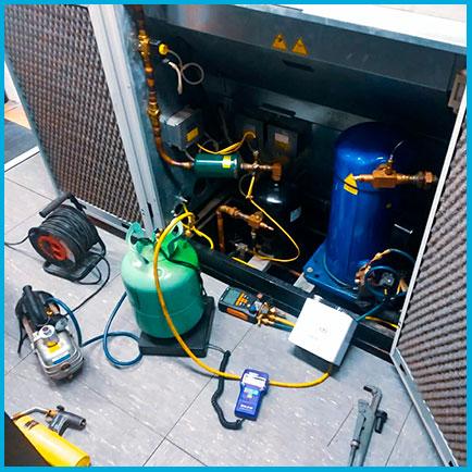 Замена компрессора шкафного кондиционера 12-18 кВт