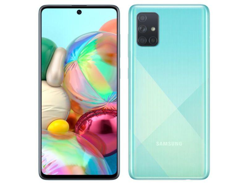 Samsung Galaxy A71 (2020) (SM-A715FD/SM) 128Gb (Синий) (SM-A715FZBMSER)
