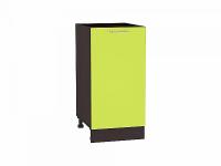 Шкаф нижний Валерия Н400 (лайм глянец)