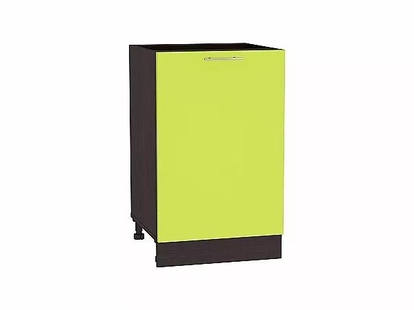 Шкаф нижний Валерия Н500 (лайм глянец)