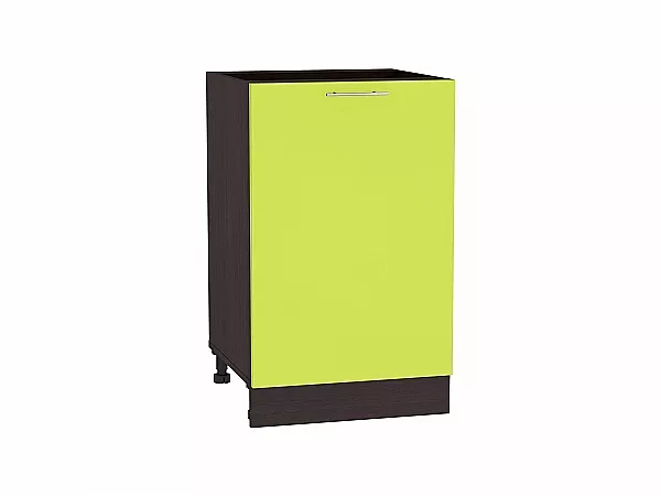 Шкаф нижний Валерия Н600-Ф46 (лайм глянец)