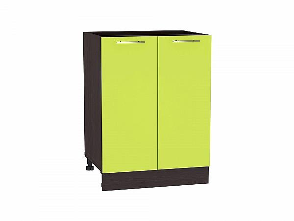 Шкаф нижний Валерия Н600 (лайм глянец)