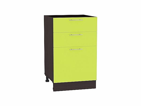 Шкаф нижний Валерия Н503 (лайм глянец)