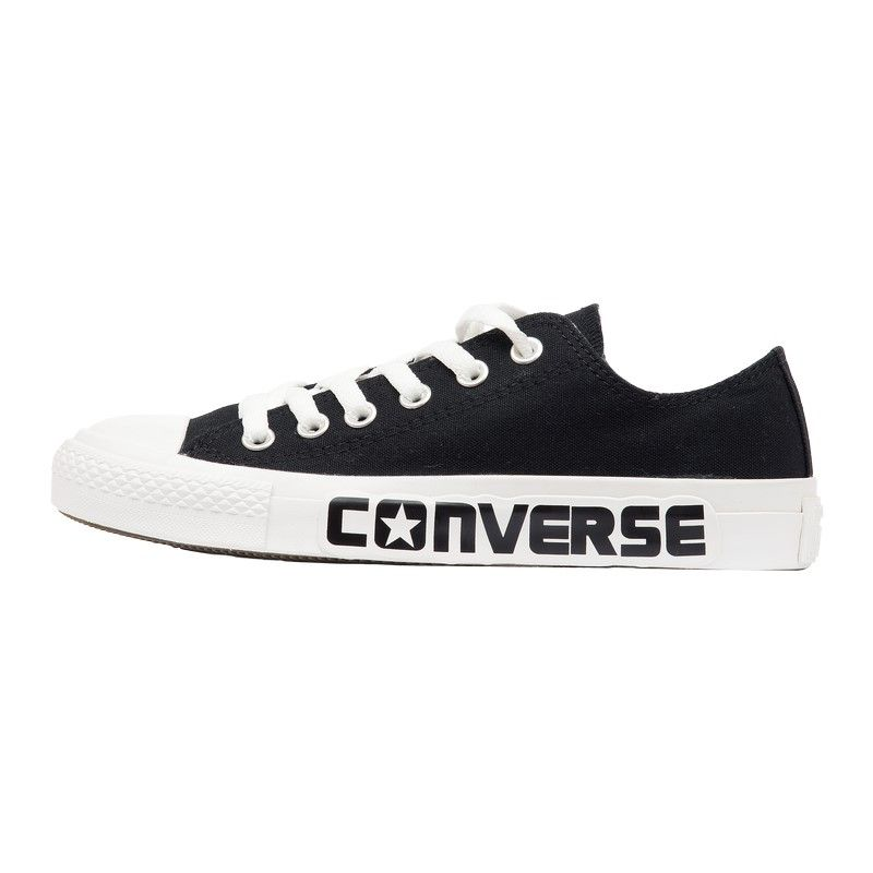 Кеды низкие Converse Chuck Taylor All Star с надписью черно-белые