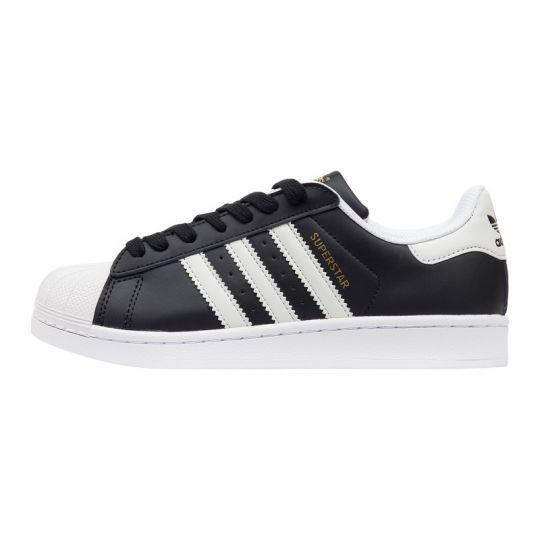 Кроссовки Adidas Superstar Black White