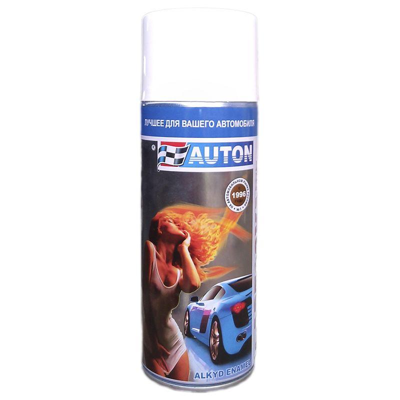"""Auton Автоэмаль, название цвета """"Светло-серая Волга """", в аэрозольном баллоне, объем 520мл."""
