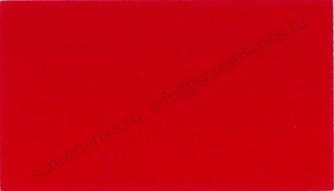 Краска RUCO T200- M05 Red - универсальная тампонная и трафаретная краска для пластика 1 кг.