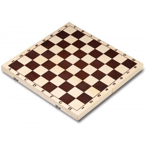 Доска шахматная гроссмейстерская IG-01 43х43см