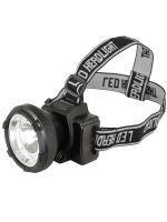 Налобный аккумуляторный фонарь UltraFlash LED5367 черный 1,2 Вт 13350 фото1