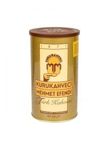 Турецкий кофе KURUKAHVECI MEHMET EFENDI, 500 грамм, молотый