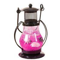 Гелевая свеча Керосиновая Лампа (цвет наполнителя розовый)_1