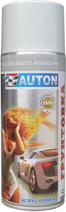 """Auton 1К acryl Filler Грунт акриловый, название цвета """"Серый"""", в аэрозольном баллоне, объем 520мл."""