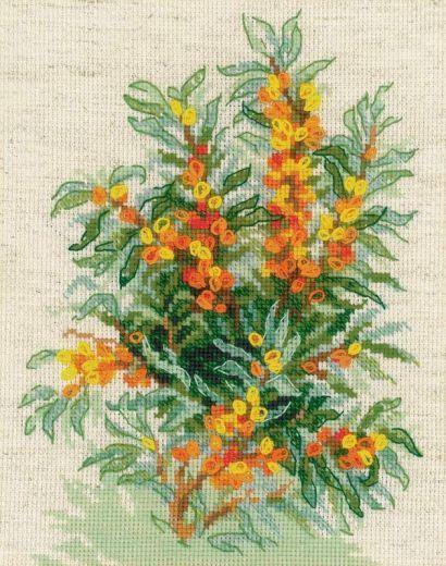 Набор для вышивания крестом Облепиха № 1648 фирма Риолис