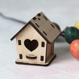 Кукольный аксессуар Домик деревянный