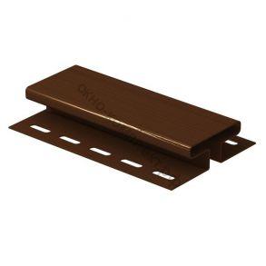 Н-профиль соединительный  (коричневый) 3,00мм