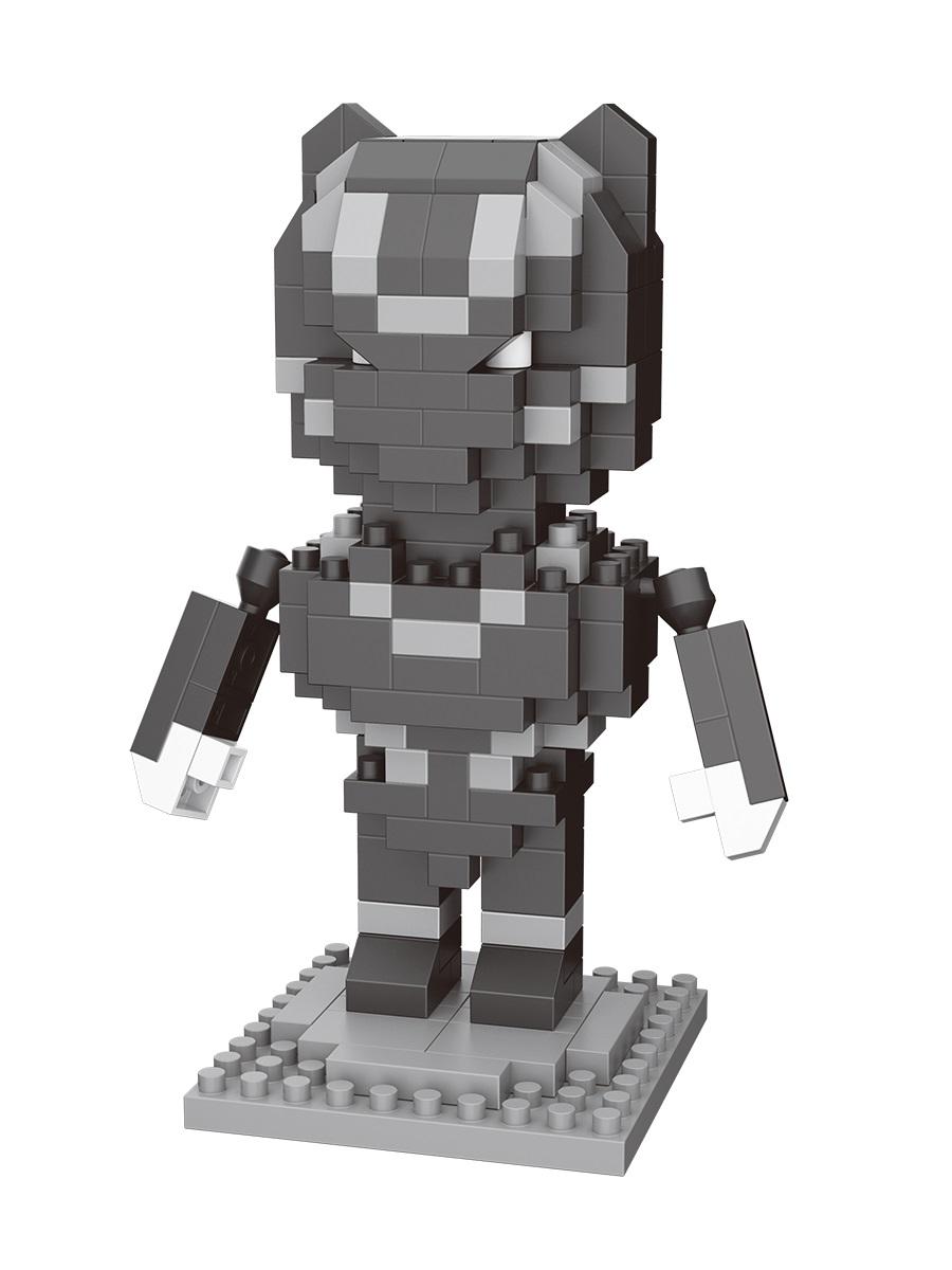 Конструктор Wisehawk & LNO Чёрная Пантера 189 деталей NO. 2543  Black Panther Gift Series