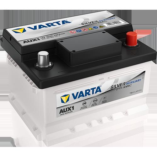 Автомобильный аккумулятор АКБ VARTA (ВАРТА) Silver Dynamic Auxiliary SLI 535 106 052 AUX1 35Ач ОП (A2305410001)
