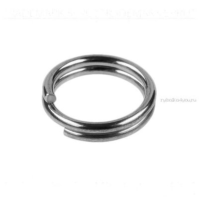Кольца Заводные Sprut SR-01 SN #4/4кг (Split Ring Silver Nickel) упаковка 22шт