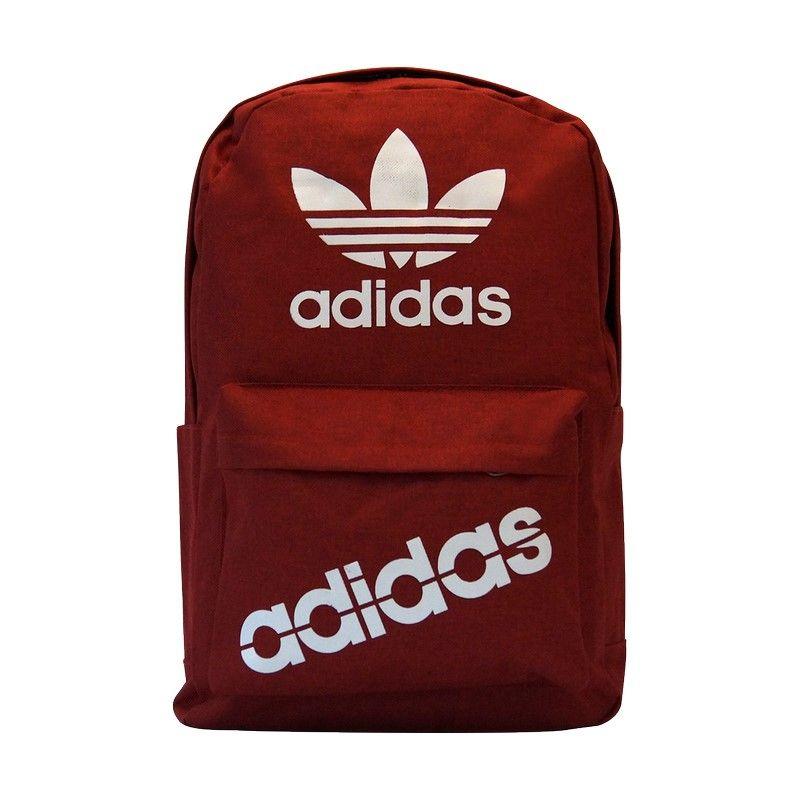 Рюкзак Adidas Maroon бордовый