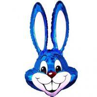 Шар фольга Фигура Кролик синий (FM)G36