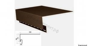 Планка околооконная (Коричневый) 3,10м