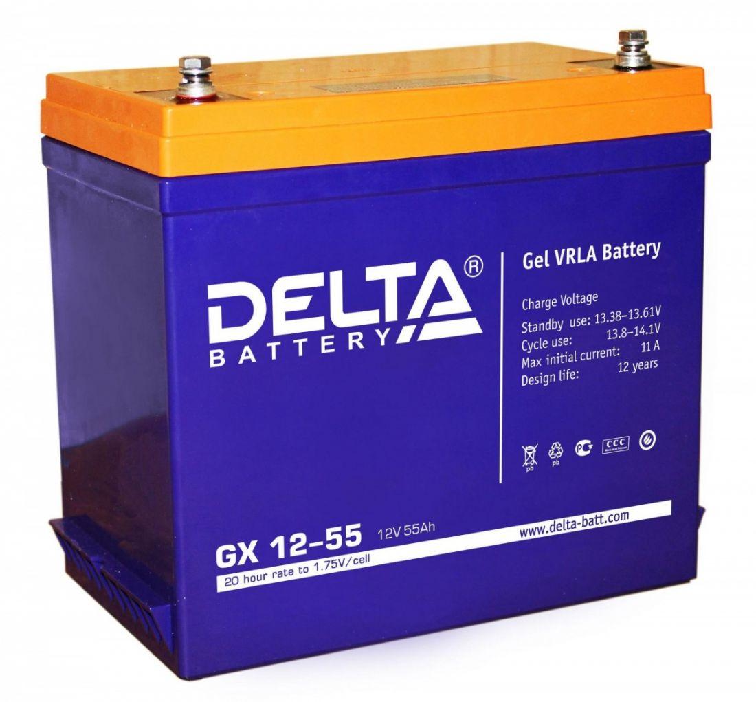 Батарея аккумуляторная Delta GX12-55