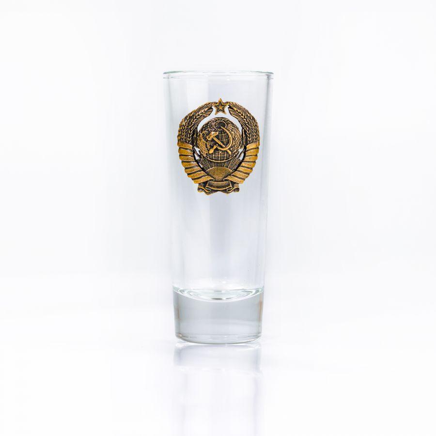 Набор рюмок герб СССР (длинные)