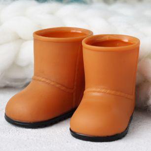 Обувь для куклы 8 см - сапожки резиновые