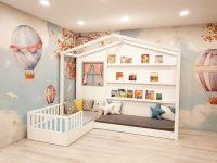Кровать Домик угловой Fairy Land №8 (для двоих детей)